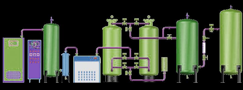 PSA Nitrogen Plant