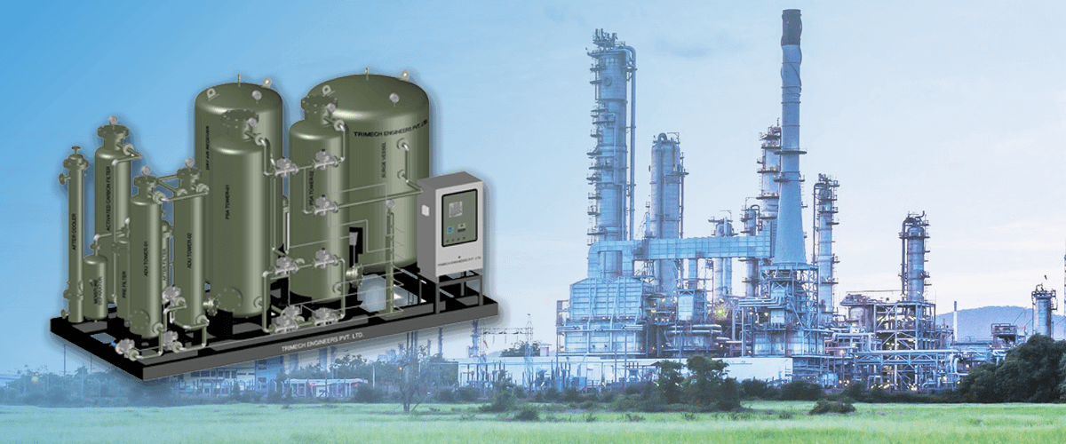 NITROGEN PLANT FOR PYROLYSIS UNIT BY TRIMECH ENGINEERS